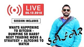 Why Bitcoin is CRASHING & DUMPING like Hell? Next Trading Move & Strategy + Altcoins to Watch