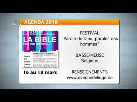 Agenda du 9 mars 2018