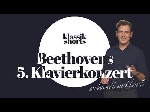 Beethoven 5. Klavierkonzert schnell erklärt   klassik shorts