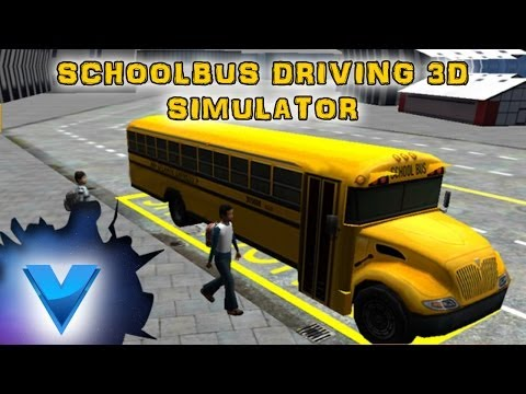 Video of Schoolbus Driving 3D Simulator