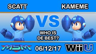 MSM 100 - MVG | ScAtt (Mega Man) Vs. DNG | Kameme (Mega Man) WHO IS DE BEST?