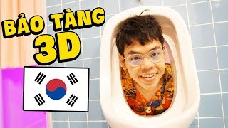 THE REVIEW OF 3D ART MUSEUM IN SOUTH KOREA (Professor Banana)