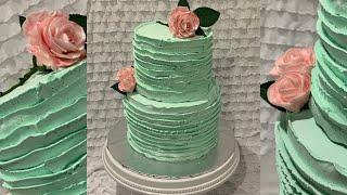 Mint And Pink Cake | Baby Shower Cake| Wedding Cake