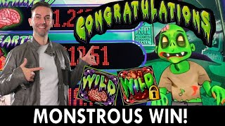 MONSTROUS WIN! 🧟♂️ Better Off Ed Slot Win 🎰 Seven Feathers #ad