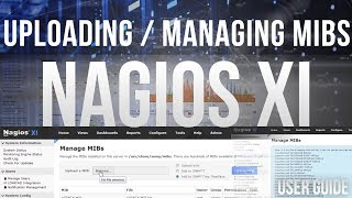Uploading and Managing MIBs in Nagios XI