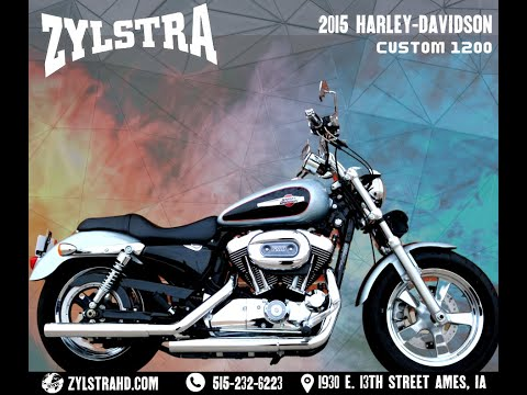 2015 Harley-Davidson 1200 Custom in Ames, Iowa - Video 1