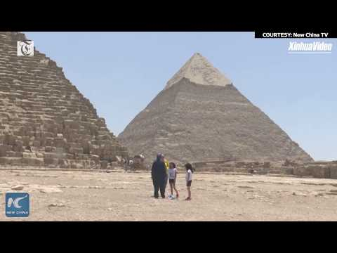 Egypt reopens pyramids to tourists after COVID closure