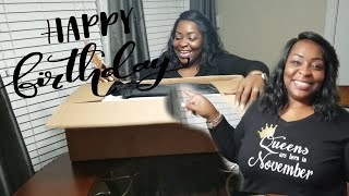 HUSBAND SURPRISES WIFE || BIRTHDAY GIFT UNBOXING