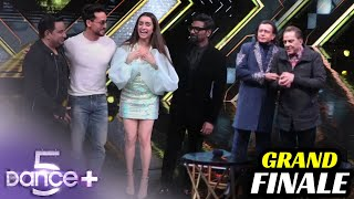 Dance Plus 5 GRAND Finale With Shraddha Kapoor, Tiger Shroff, Mithun Da, Raghav Juyal Remo D'souza