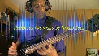 Promises Promises by Naked Eyes  (Bass Cover)