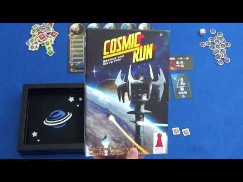Cosmic Run - Solo Playthrough