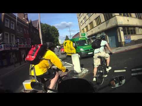 Cyclist Near Miss