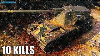 Танк ЭМИЛЬ 1 МАСТЕР 🌟 10 ФРАГОВ 🌟 World of Tanks лучший бой Emil I