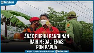 Sosok Atinna Anak Buruh Bangunan di Banyumas Peraih Medali Emas PON Papua