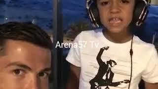 Cristiano Ronaldo Singing Davido FIA