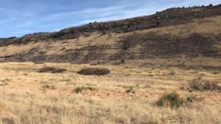 Fine example of a Hogback Landform