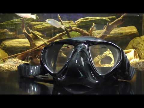Маска для подводной охоты BS Diver Seal Video #1