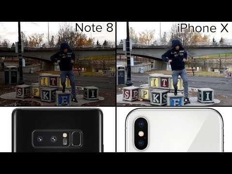 Comparison: iPhone X vs. Galaxy Note 8 video quality - iPhone ...