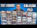 Minha Cole o De Playstation 3 Em 2021 267 Jogos De Ps3