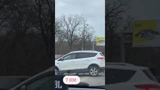 Под Одессой у «7 километра» столкнулись пять автомобилей. ВИДЕО