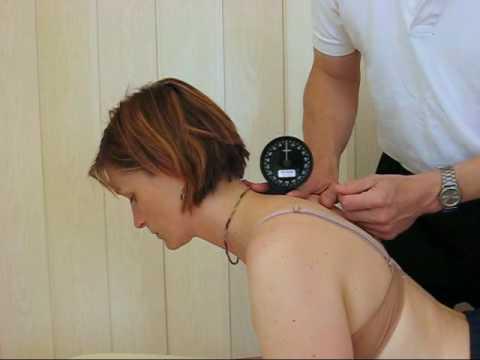 Der Zapfen auf der Wirbelsäule tut der Hals weh