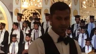 حفلة تخرج ابني مهند مع طلاب كلية الطب جامعة ام القرى الدفعة 34 بقاعة القصر بجدة رعاية عميد الكلية