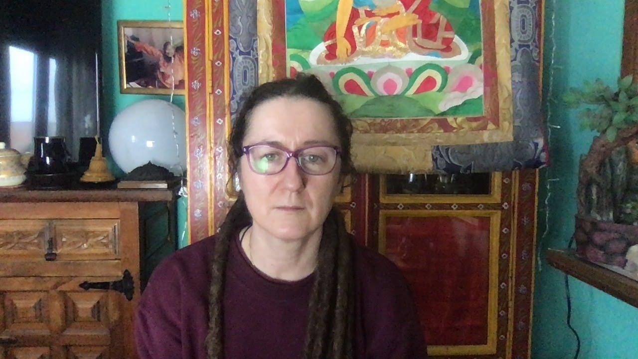 Lama Gangchen Tantric Self-Healing 2- Commentary by Lama Caroline - part 57 (EN) Hand mudras