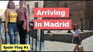 ARRIVING IN MADRID | Spain Vlog #1