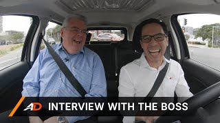 Drive With Ford Philippines Managing Director Bert Lessard