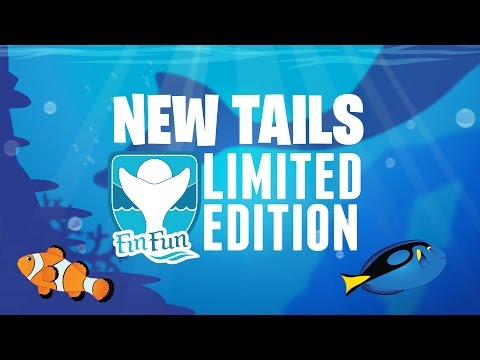 New Fin Fun Tails - Limited Edition