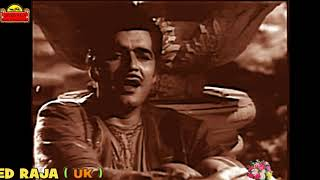 RAFI SAHAB & LATA JI~Film~HALAKU~{1956}~Aa Ja Ke