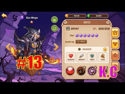 Idle Heroes - Das Moge 10 Star - Team Dark/Light - смотреть онлайн