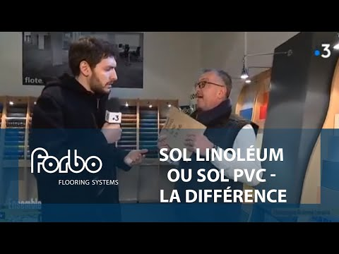 Sol linoléum (lino) ou sol PVC, quelle différence ? | Marmoleum vs Sarlon trafic