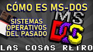 CÓMO es MSDOS 💾 Así era MS-DOS, sus COMANDOS y sus JUEGOS