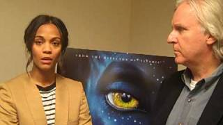Зои Салдана, Steve Pond interviews James Cameron and Zoe Saldana