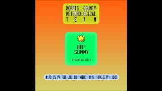 06. Morris County Meteorological Team - Cape May High Tide