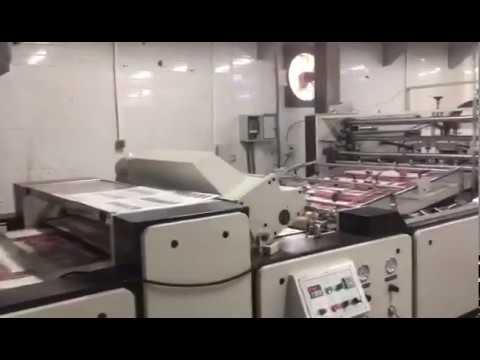 Hot Knife Film Lamination Machine