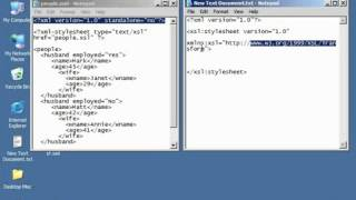 XML Tutorial   56 Creating An XSLT Stylesheet