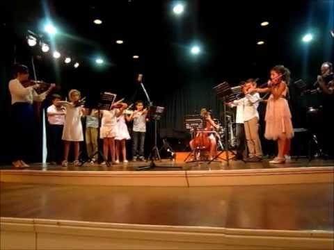 Οι μικροί βιολιστές έδωσαν τη δική τους συναυλία [video]