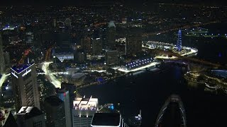 A Helicopter Ride Over Stunning Singapore | Singapore Grand Prix 2016