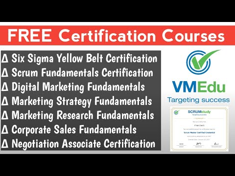 Free Certificate Courses   Six Sigma Yellow Belt Free Certification ...