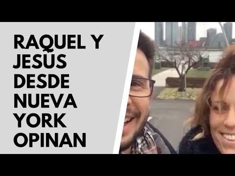 NUEVA YORK. Opinión de Jesús y Raquel