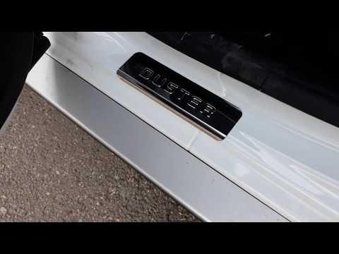 Накладки на пороги Renault Duste с 2011 по наст. время