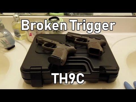 Taurus Broken Trigger TH9C - смотреть онлайн на Hah Life
