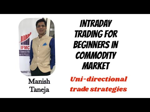Intraday Trading in Crude Oil on the Basis of UDTS ll commodity ...