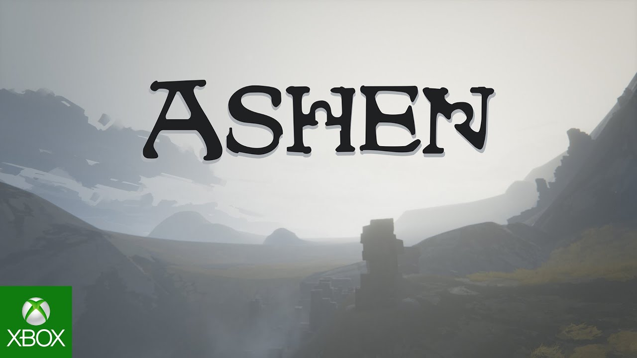 Black Ashen logo across the sunless sky