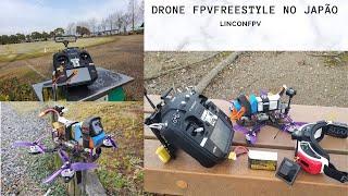 Drone fpv freestyle inverno não tem como voar o frio trava tudo!