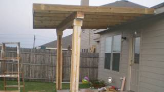 How To Build a Patio Cover (must watch)