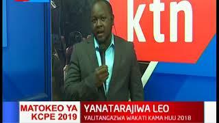 Matokeo ya KCPE 2019 yanatarajiwa muda wowote