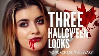 Three Easy Halloween Looks: HelloKaty